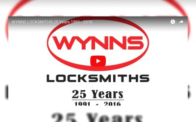 25 Years of Wynns Locksmiths