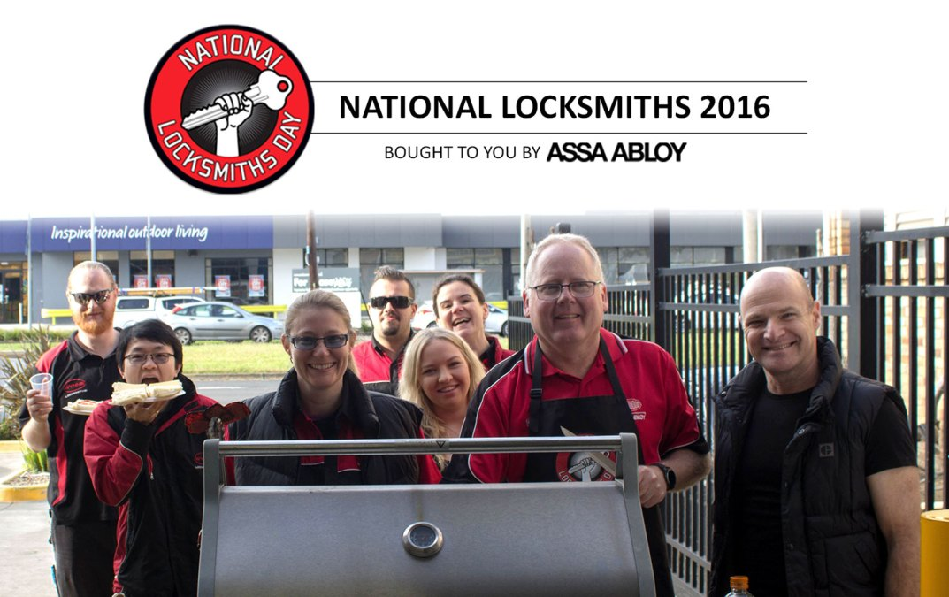National Locksmiths Day 2016