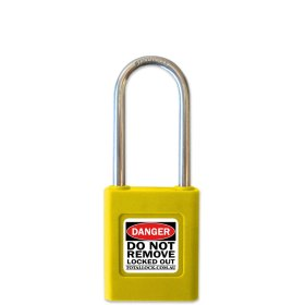 Total Lock Safety Padlock Yellow