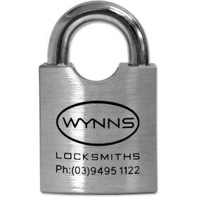Wynns Locksmiths 55mm Padlock