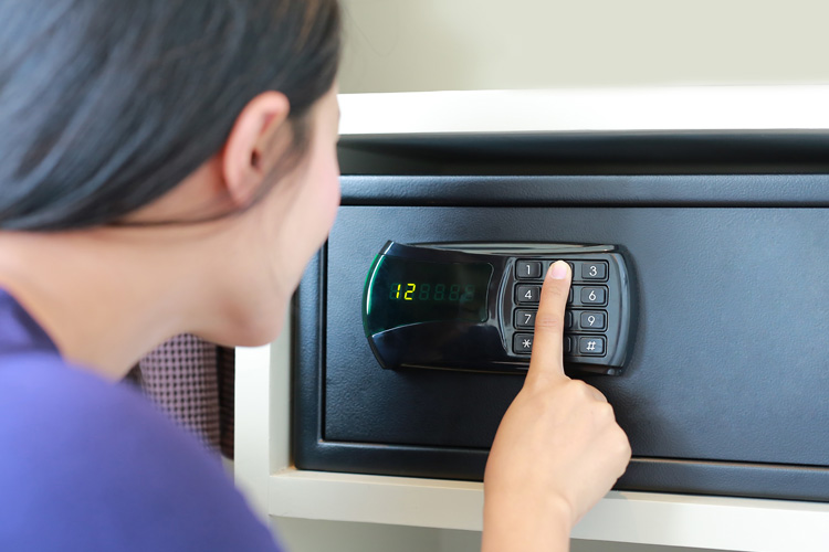What to do when you have forgotten the code to your safe?