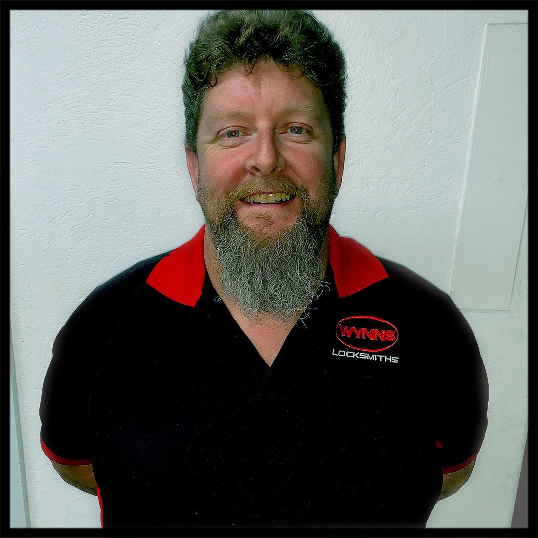Rod Edybean - Wynns Locksmiths Wodonga Branch Manager