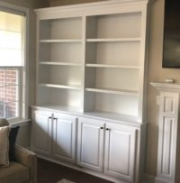 Custom Made Built-Ins by Wynn's Services - Cincinnati Painting & Remodeling