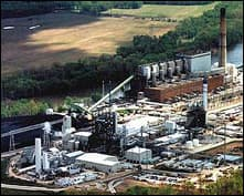 The Wabash River power plant