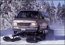 The move towards more snowcoaches
