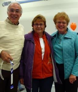 Lon and Nancy Lewis and Alvina May Aragon