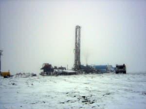 Powder River Basin coal-bed methane drilling rig
