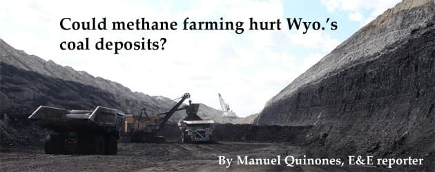 Could methane farming hurt Wyo.'s coal deposits?