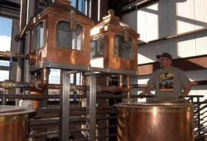 Wyoming Whisky still