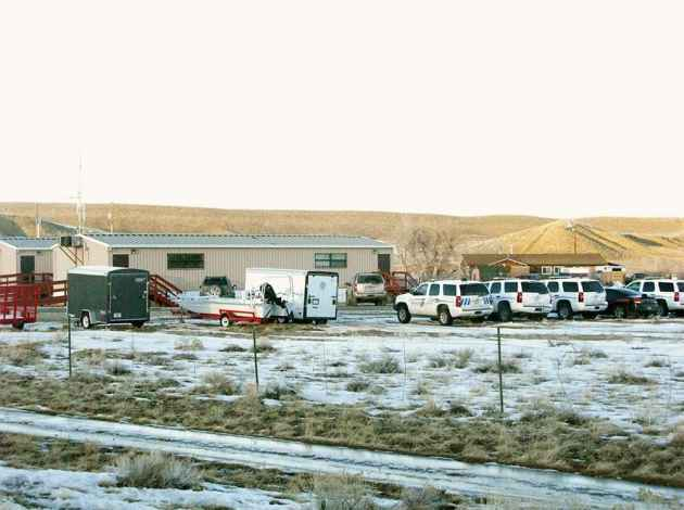 The police department of the Wind River Indian Reservation in Riverton, Wyoming. Law enforcement officials are limited in their ability to curb drunk driving by non-natives on the reservation because Wyoming legislators oppose expanding the power of the federal government in Wyoming. (Ron Feemster/WyoFile — click to view)