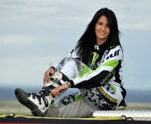 Nix Gaudern of Riverton is trying to go pro in motocross.  (Photo courtesy Susan Gaudern with BT Photography)