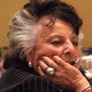 LaDonna Harris (Comanche) Founder of Americans for Indian Opportunity. (Ron Feemster/WyoFile — click to view)