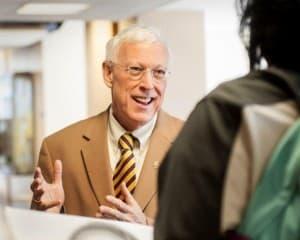 Dr. Robert Sternberg, University of Wyoming President.
