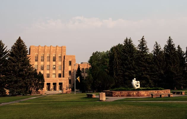 Prexy's Pasture at the University of Wyoming.