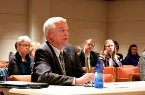 Dan Perdue, president of the Wyoming Hospital Association.