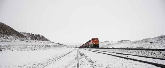 Wyoming train