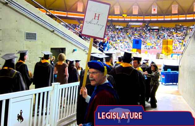 Wyoming lawmakers propose raises amid costly employee turnover University of Wyoming faculty staff raises graduation Dr. Michael Brose