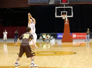 Buell Robinson - Wyoming Indian basketball