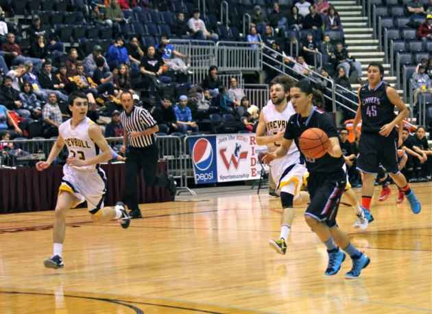 Wilson Clifford - Wyoming Indian basketball