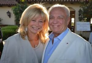Mike Ruffatto and his wife Eve at an August 2013 Orange County, Ca, charity fundraiser (Orange County Resgister)
