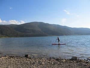 Paddle boarding(courtesy of Kelsey Dayton click to enlarge)