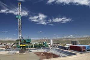 Unlike Two Elk, UW successfully drilled the deep site characterization well that was the centerpiece of  the federal stimulus grant (courtesy University of Wyoming — click to enlarge)