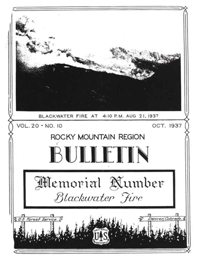 The Blackwater Fire on the Shoshone National Forest near Cody killed 15 firefighters in 1937 and became one of the first modern firefighting tragedies to be closely investigated. It lead to the formation of smokejumpers after an investigator determined that attacking fires faster might help avert future tragedy.