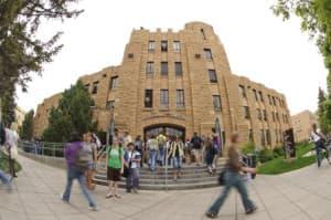 University of Wyoming Student Union building. (Courtesy University of Wyoming)