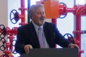 Jerry Barnes, vice president of land for WPX. (WyoFile/Gregory Nickerson — click to enlarge)