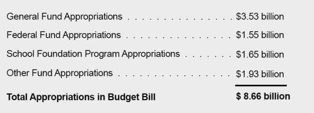 actual budget