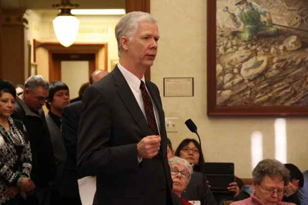 Wyoming Department of Health Director Tom Forslund Medicaid Expansion close