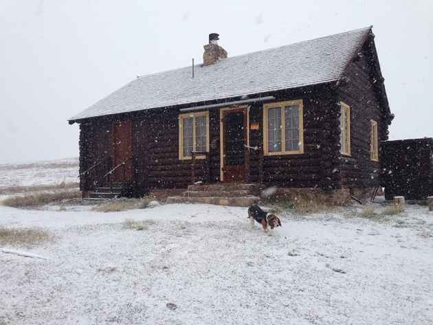 There are two cabins you can rent on the Bighorn National Forest during the winter. (courtesy U.S. Forest Service)