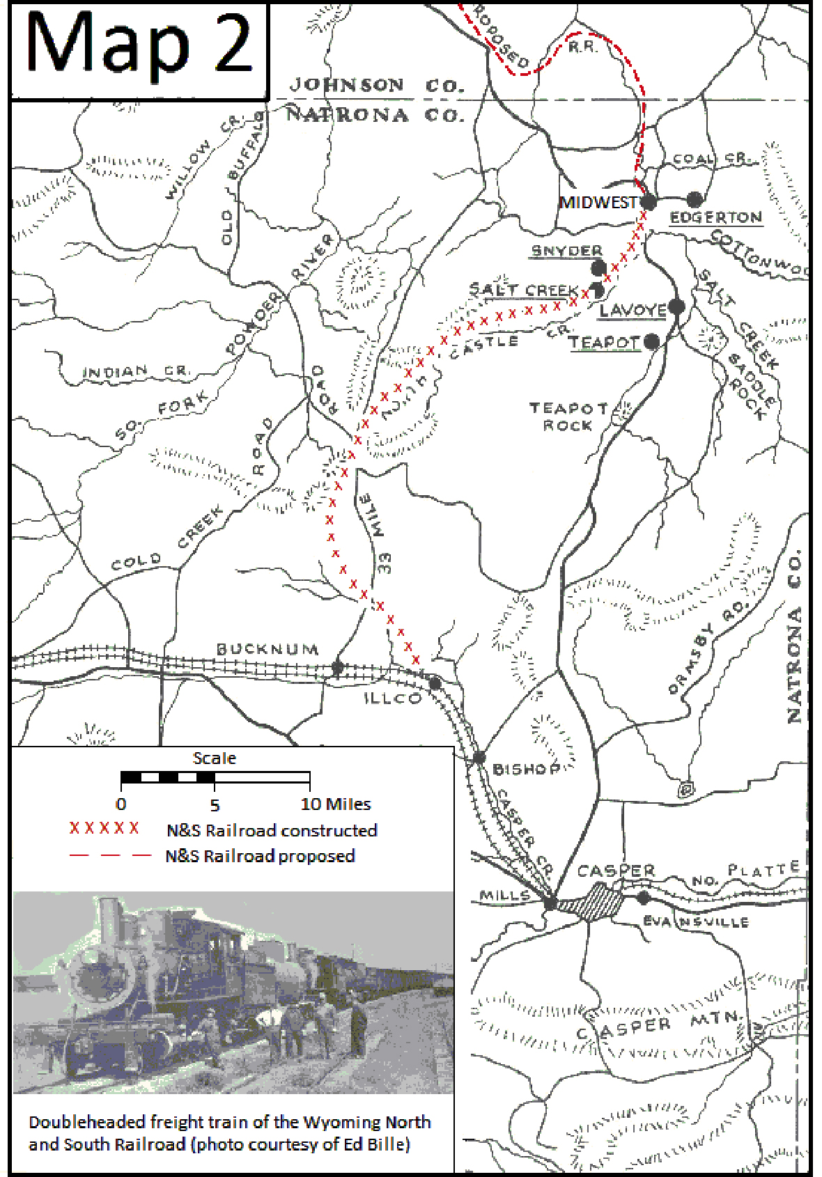 The Wyoming North And South Railroad