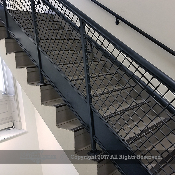 Guard Hand Railing   Commercial Handrails And Railings   Metal   Wood   Guardrail   Pipe Railing   Stainless Steel Railing