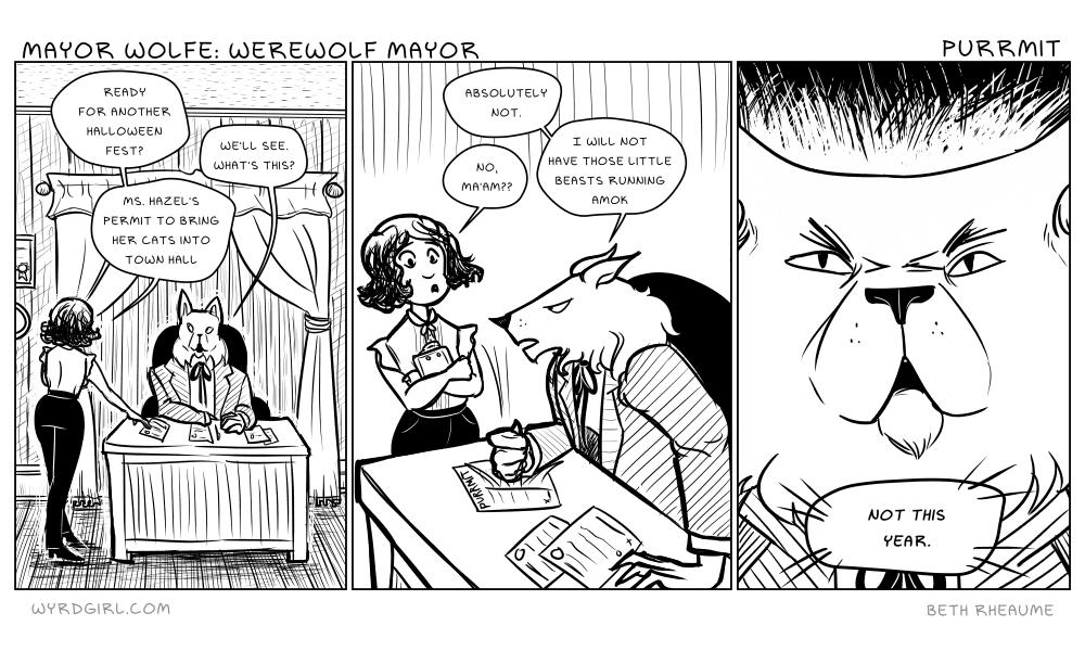 Mayor Wolfe: Werewolf Mayor – Purrmit