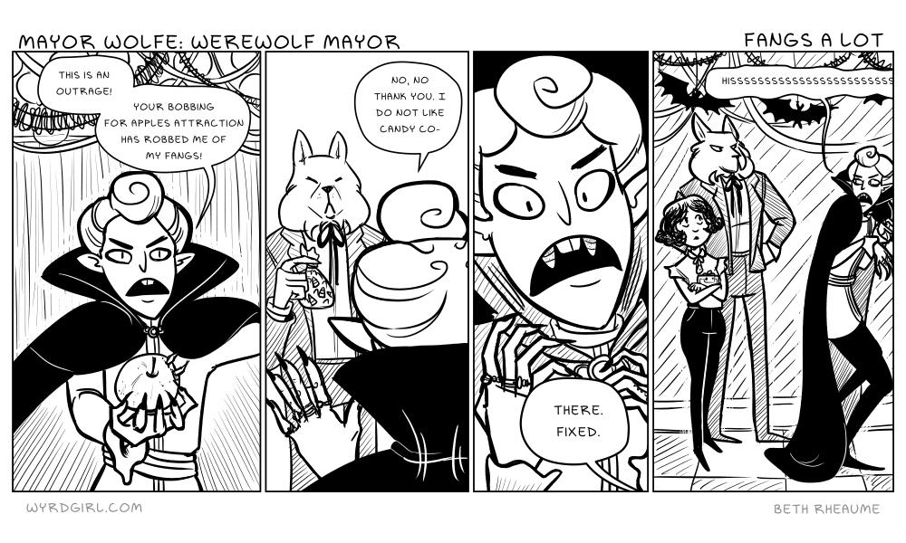 Mayor Wolfe: Werewolf Mayor – Fangs a lot