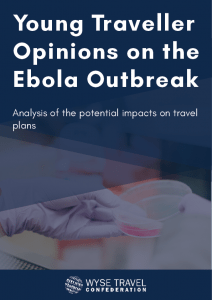 Young Traveller Opinions on the Ebola Outbreak