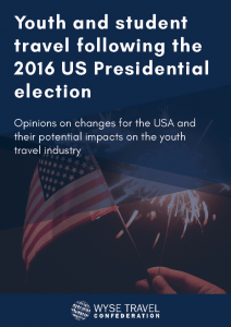 Youth and Student Travel Following the 2016 United States Presidential Election