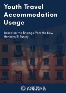 New Horizons III – Youth Travel Accommodation Usage