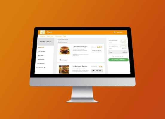 Click and Collect Restaurant Wysifood