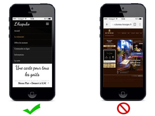version-mobile-site