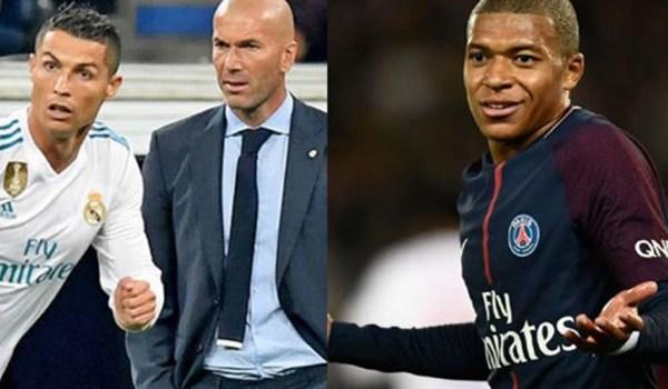 Mbappe Antusias Hadapi Ronaldo dan Zidane di Liga Champions