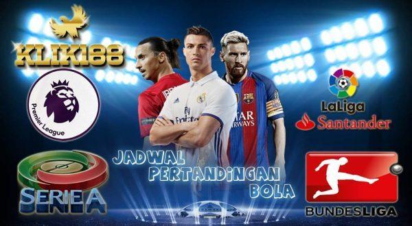 Jadwal Liga-Liga Top Eropa Pekan Ini 20-23 Januari 2018