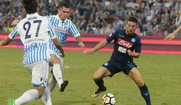 Prediksi Pertandingan Sepakbola Liga Italia Napoli VS SPAL