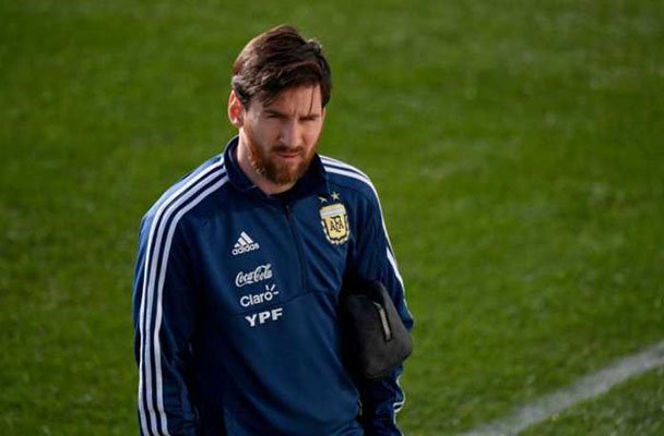 Gelandang Timnas Spanyol Koke Pesimis Hadapi Lionel Messi