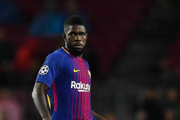 Barcelona Mulai Ketakutan Samuel Umtiti Pindah ke Manchester United