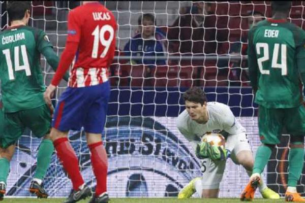 Kiper Muda Atletico Madrid Curi Perhatian di Liga Europa