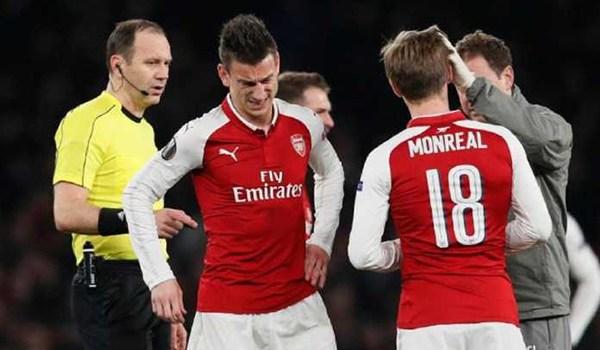 Arsenal Kehilangan Laurent Koscielny Saat Kalahkan AC Milan
