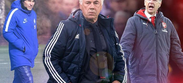 Chelsea dan Arsenal Bersaing Dapatkan Jasa Carlo Ancelotti