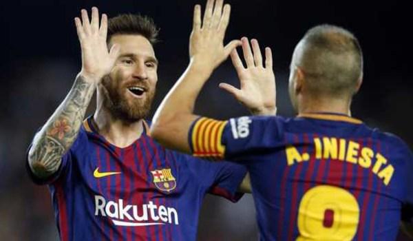 Lionel Messi Membuat Perbedaan di Setiap Pertandingan Ungkap Iniesta